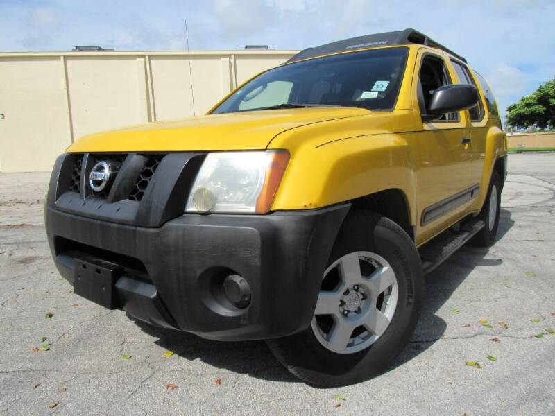 2005 Nissan Xterra for sale at Easy Deal Auto Brokers in Hollywood FL