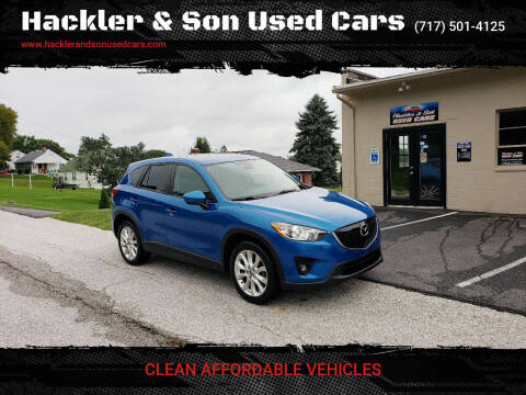 2014 Mazda CX-5 for sale at Hackler & Son Used Cars in Red Lion PA