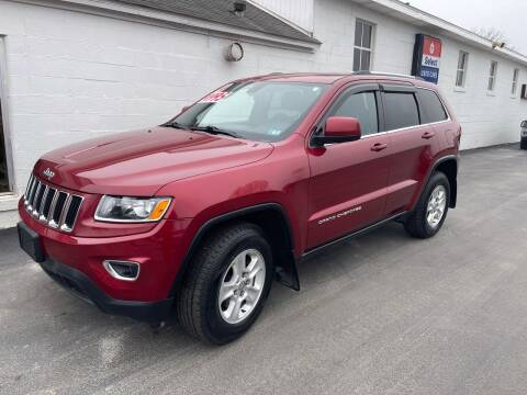 2014 Jeep Grand Cherokee for sale at Chilson-Wilcox Inc Lawrenceville in Lawrenceville PA