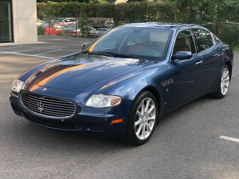 2006 Maserati Quattroporte for sale at MAGIC AUTO SALES in Little Ferry NJ