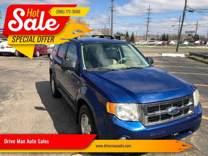 2008 Ford Escape for sale at Drive Max Auto Sales in Warren MI