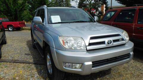 2003 Toyota 4Runner for sale at M & M Auto Sales LLc in Olympia WA