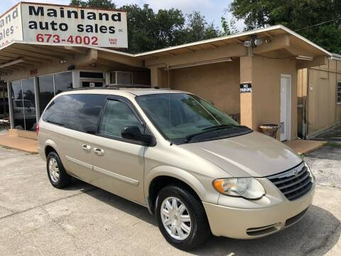 2006 Chrysler Town and Country for sale at Mainland Auto Sales Inc in Daytona Beach FL
