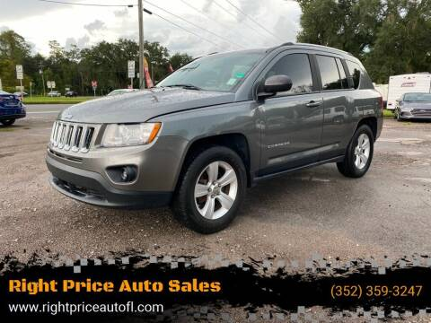 2012 Jeep Compass for sale at Right Price Auto Sales-Gainesville in Gainesville FL