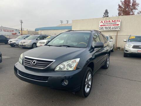 2007 Lexus RX 400h for sale at Adams Auto Sales in Sacramento CA