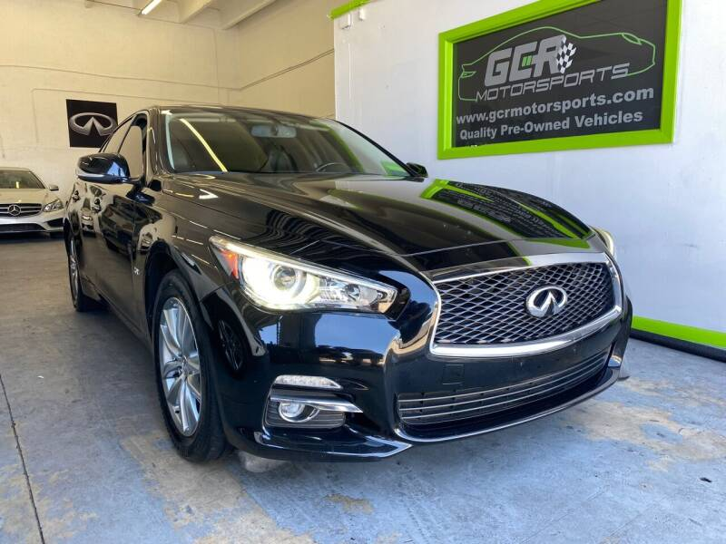 2016 Infiniti Q50 for sale at GCR MOTORSPORTS in Hollywood FL