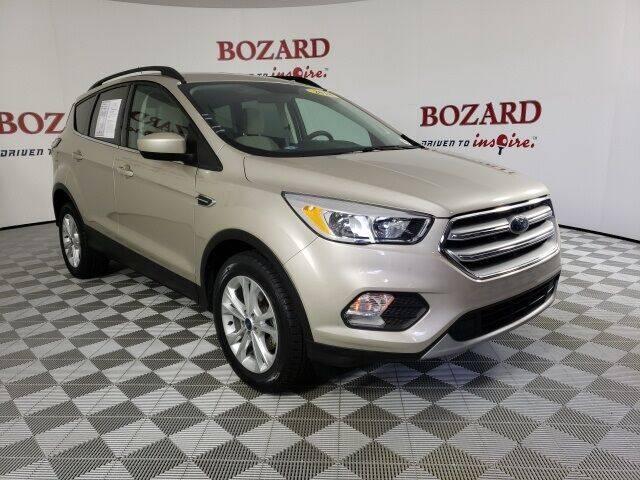 2018 Ford Escape for sale at BOZARD FORD in Saint Augustine FL