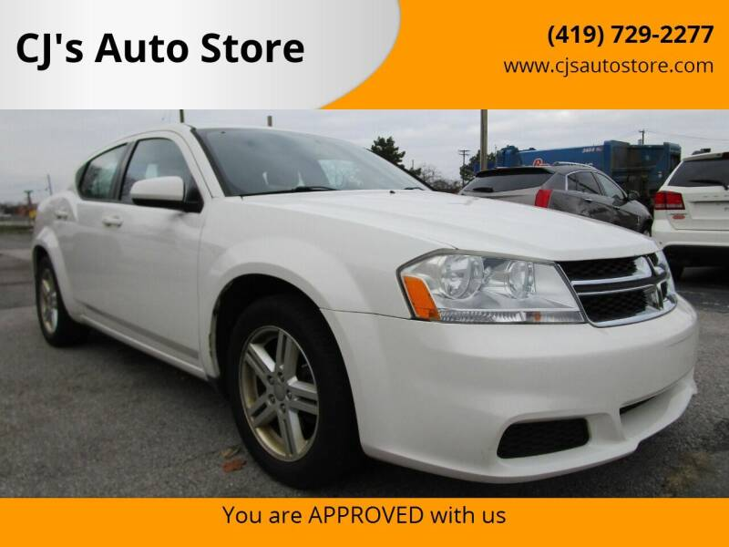 2011 Dodge Avenger for sale at CJ's Auto Store in Toledo OH