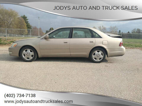 2003 Toyota Avalon for sale at Jodys Auto and Truck Sales in Omaha NE
