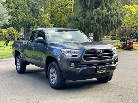 2019 Toyota Tacoma for sale at Lux Motors in Tacoma WA