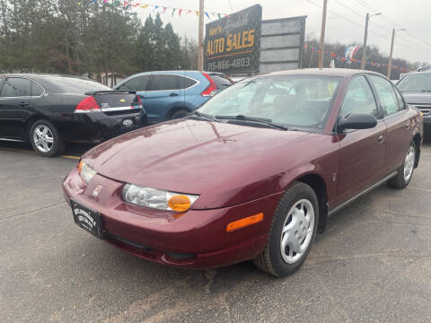 2002 Saturn S-Series for sale at Affordable Auto Sales in Webster WI