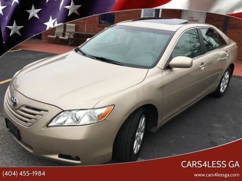 2008 Toyota Camry for sale at Cars4Less GA in Alpharetta GA