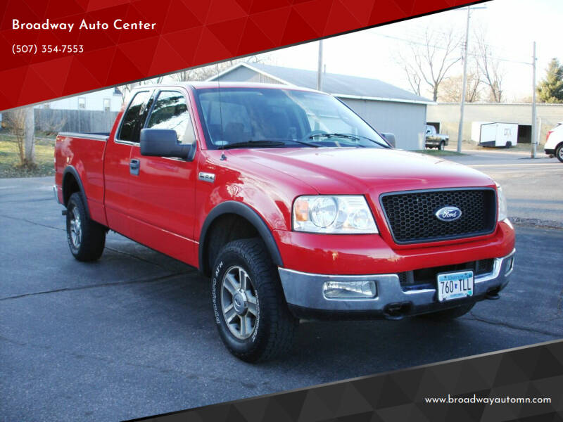 2005 Ford F-150 for sale at Broadway Auto Center in New Ulm MN