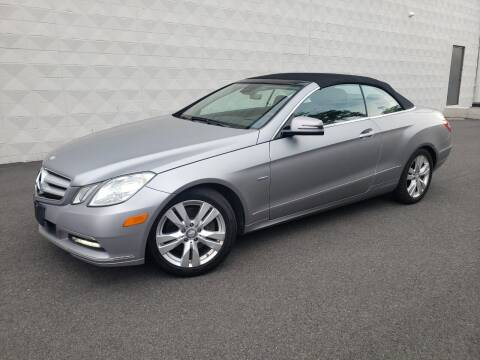 2012 Mercedes-Benz E-Class for sale at Positive Auto Sales, LLC in Hasbrouck Heights NJ