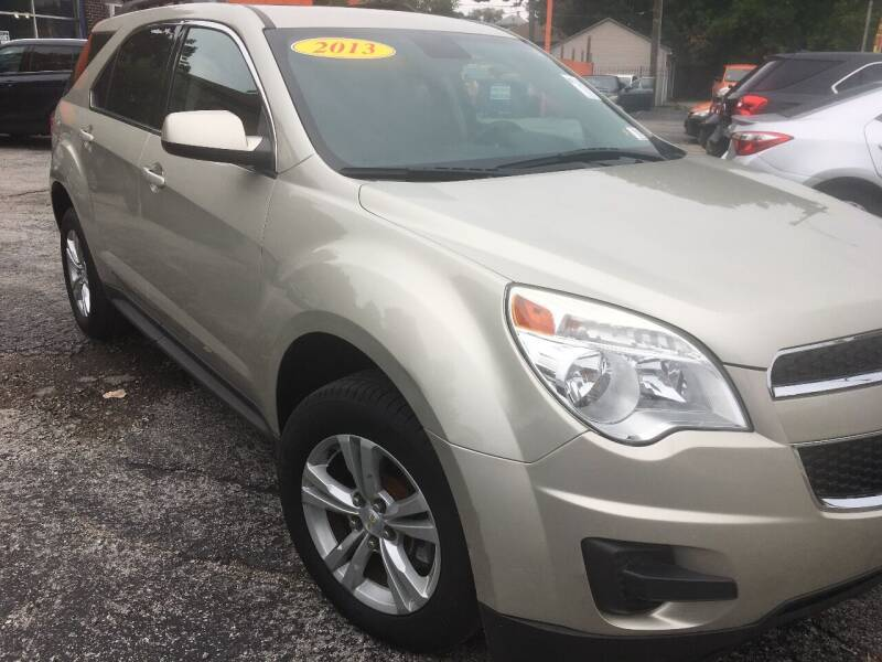 2013 Chevrolet Equinox for sale at 540 AUTO SALES in Chicago IL