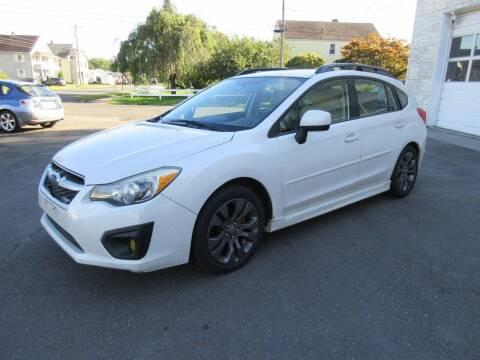 2012 Subaru Impreza for sale at BOB & PENNY'S AUTOS in Plainville CT
