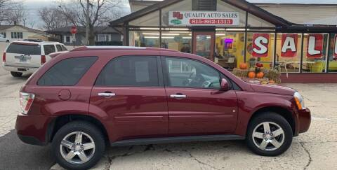 2009 Chevrolet Equinox for sale at NJ Quality Auto Sales LLC in Richmond IL