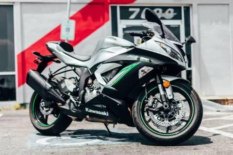 2018 Kawasaki Ninja ZX-6R