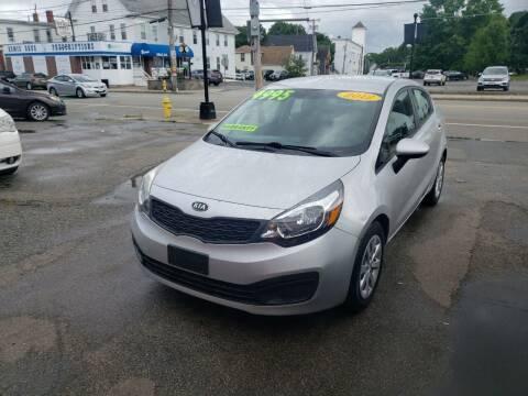2012 Kia Rio for sale at TC Auto Repair and Sales Inc in Abington MA