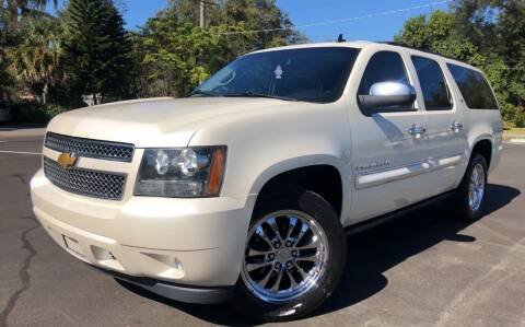 2008 Chevrolet Suburban for sale at LUXURY AUTO MALL in Tampa FL