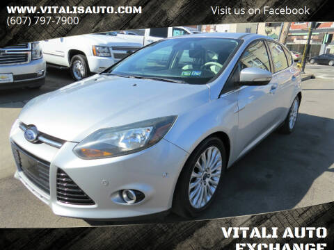 2012 Ford Focus for sale at VITALI AUTO EXCHANGE in Johnson City NY