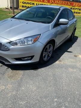 2018 Ford Focus for sale at BRYANT AUTO SALES in Bryant AR