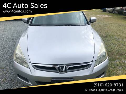 2007 Honda Accord for sale at 4C Auto Sales in Wilmington NC