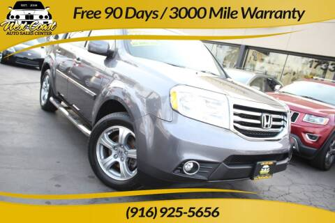 2014 Honda Pilot for sale at West Coast Auto Sales Center in Sacramento CA
