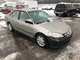 2004 Honda Civic for sale at WELLER BUDGET LOT in Grand Rapids MI