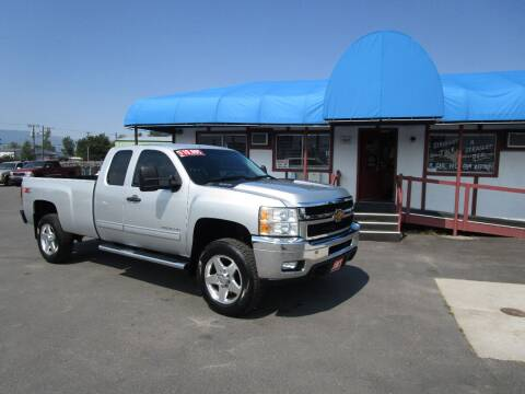 2013 Chevrolet Silverado 2500HD for sale at Jim's Cars by Priced-Rite Auto Sales in Missoula MT