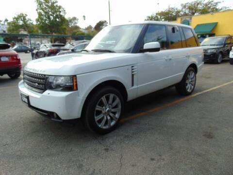 2012 Land Rover Range Rover for sale at Santa Monica Suvs in Santa Monica CA