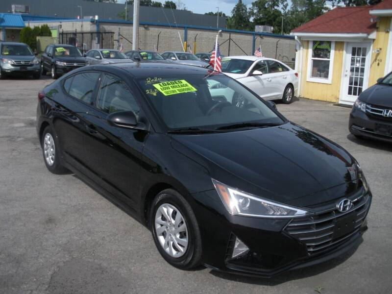 2020 Hyundai Elantra for sale at One Stop Auto Sales in North Attleboro MA