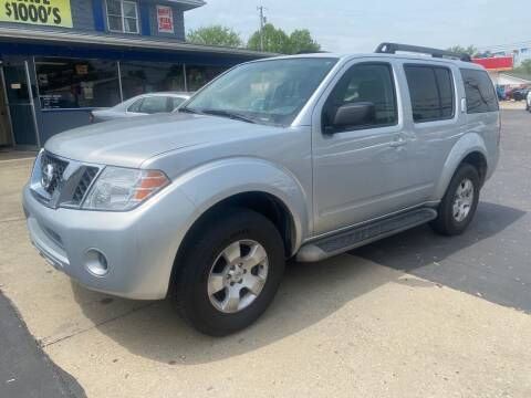 2010 Nissan Pathfinder for sale at Wise Investments Auto Sales in Sellersburg IN