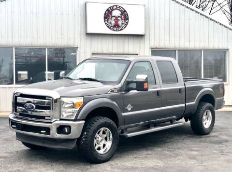 2011 Ford F-250 Super Duty for sale at Torque Motorsports in Rolla MO