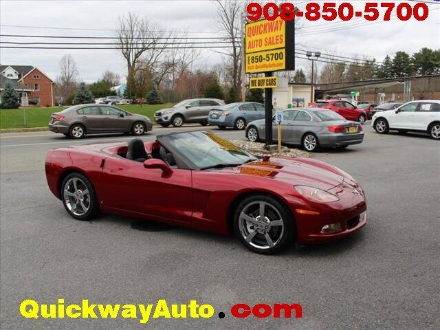 2009 Chevrolet Corvette for sale at Quickway Auto Sales in Hackettstown NJ