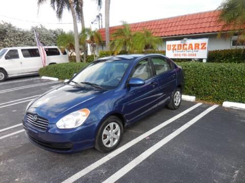 2009 Hyundai Accent for sale at Uzdcarz Inc. in Pompano Beach FL
