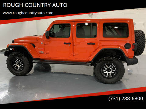 2020 Jeep Wrangler Unlimited for sale at ROUGH COUNTRY AUTO in Dyersburg TN