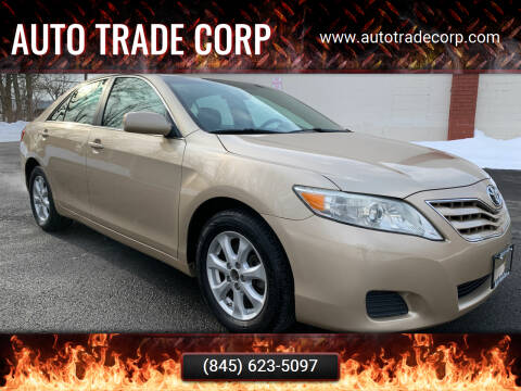 2011 Toyota Camry for sale at AUTO TRADE CORP in Nanuet NY
