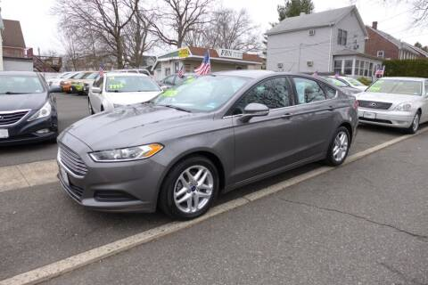 2014 Ford Fusion for sale at FBN Auto Sales & Service in Highland Park NJ