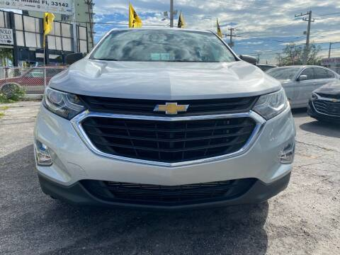 2018 Chevrolet Equinox for sale at MIAMI AUTO LIQUIDATORS in Miami FL