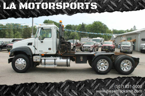 2003 Mack CV713 for sale at LA MOTORSPORTS in Windom MN