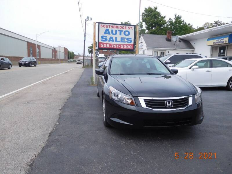 2010 Honda Accord for sale at Southbridge Street Auto Sales in Worcester MA