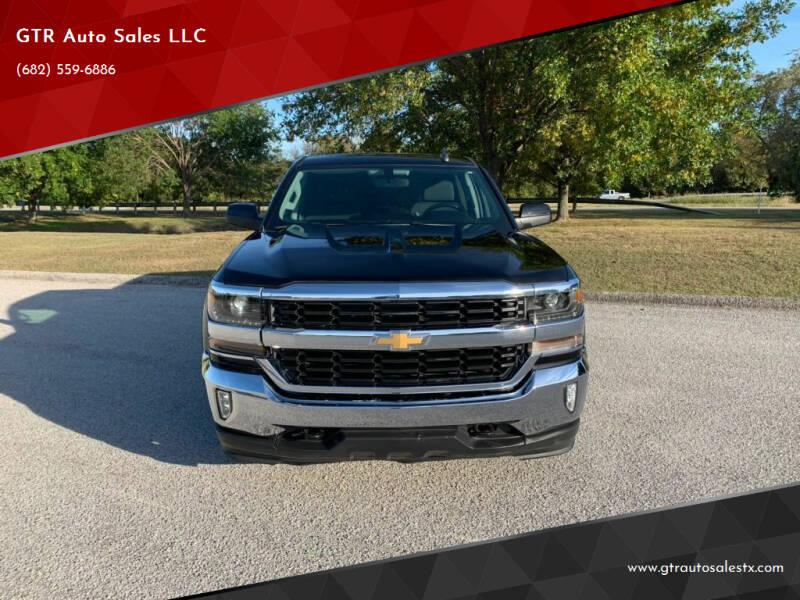 2016 Chevrolet Silverado 1500 for sale at GTR Auto Sales LLC in Haltom City TX