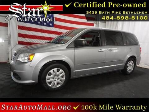 2016 Dodge Grand Caravan for sale at STAR AUTO MALL 512 in Bethlehem PA