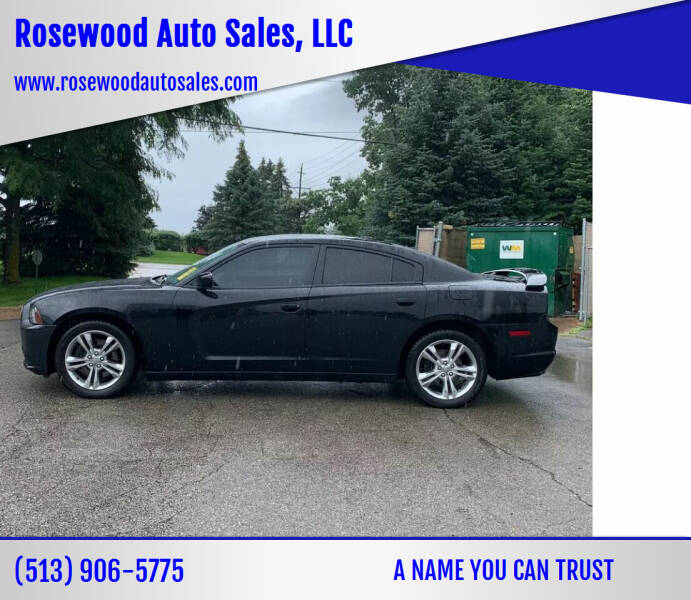 2014 Dodge Charger for sale at Rosewood Auto Sales, LLC in Hamilton OH