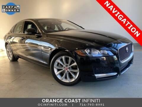 2017 Jaguar XF for sale at ORANGE COAST CARS in Westminster CA