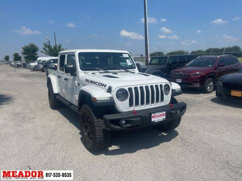 2020 Jeep Gladiator for sale at Meador Dodge Chrysler Jeep RAM in Fort Worth TX