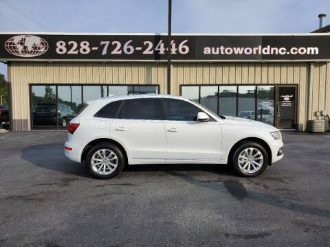 2014 Audi Q5 for sale at AutoWorld of Lenoir in Lenoir NC