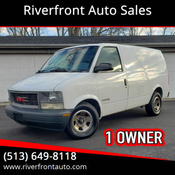 1999 GMC Safari Cargo for sale at Riverfront Auto Sales in Middletown OH