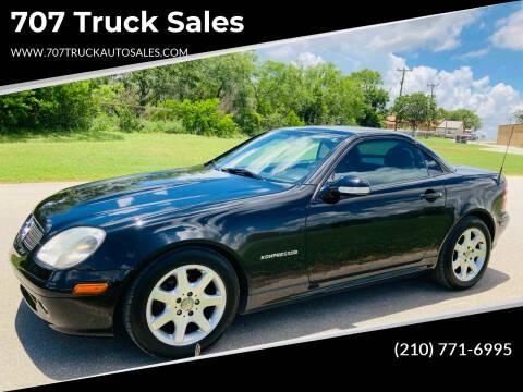 2003 Mercedes-Benz SLK for sale at 707 Truck Sales in San Antonio TX